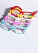 Retro Bright Color Nerd Glasses