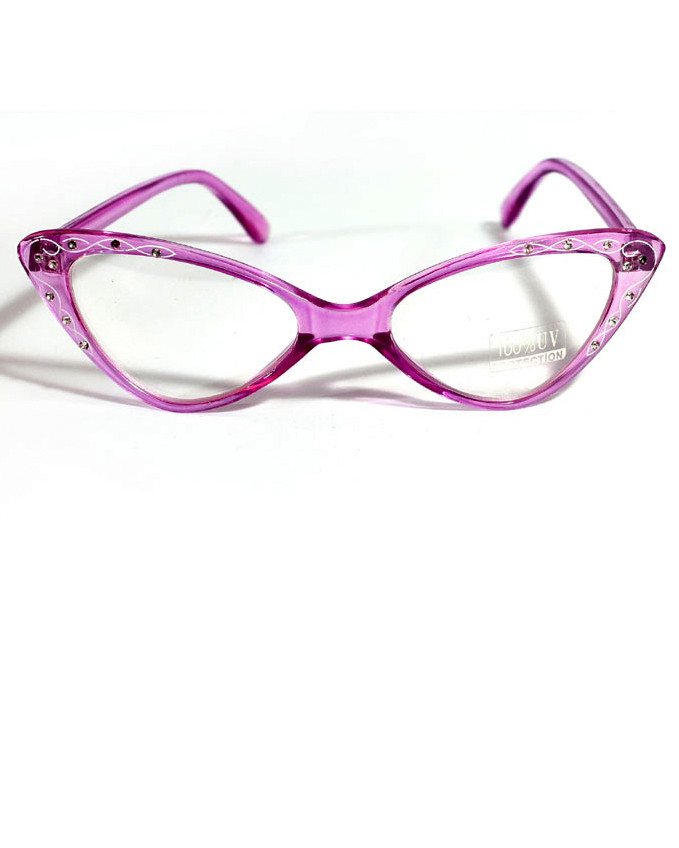 67ab831a63 Retro Style 50 s Twirl Cat Eye Glasses - Candy Apple Costumes - 50 s ...