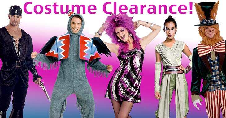 6ed4b4c229e Sale and Clearance Costumes for Men, Women and Kids
