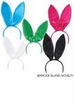 Satin Bunny Ears Headband