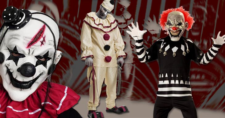 scary clown halloween costumes candy apple costumes