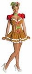 Sexy Adult Gingerbread Girl Costume