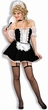 Sexy Deluxe French Maid Costume