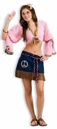 Sexy Hippie Chickie Costume