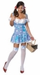Sexy Sparkle Dorothy Costume - Wizard of Oz