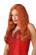 Silver Screen Glam Wig - Red