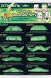 St. Patrick's Day Green Self-Adhesive Mustaches Set
