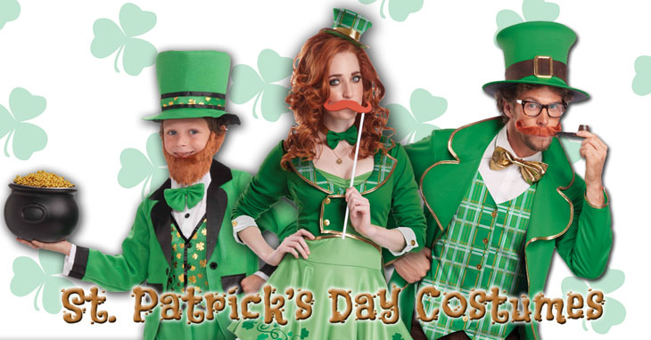 4f50e928 St. Patrick's Day Costumes for Kids, Women and Men