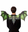 Sublimation Printed Green Dragon Wings