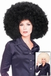 Super Afro Wig - Black or Blonde