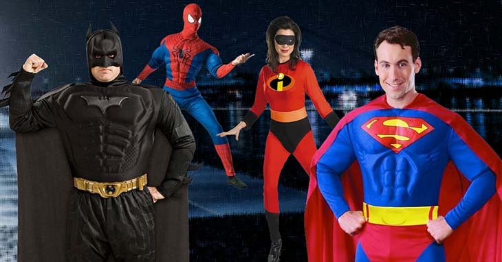 Super Hero  Villain Costumes