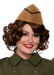 Tan Military Envelope Hat
