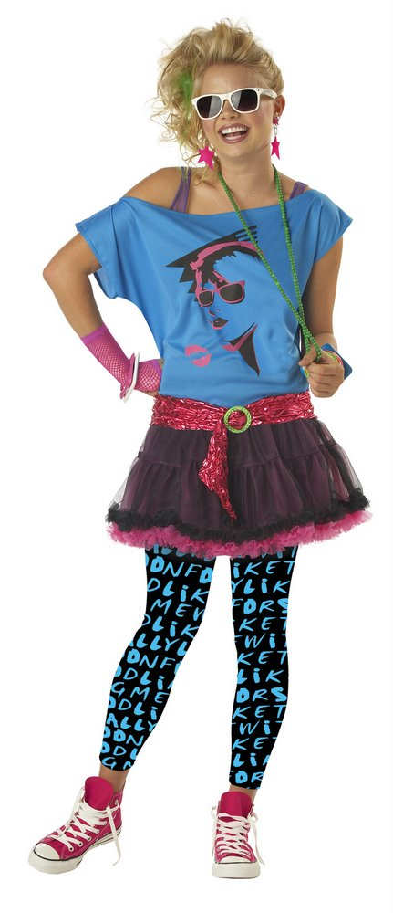 46009c249d7 Teen 80 s Valley Girl Costume - Candy Apple Costumes - 80 s Costumes