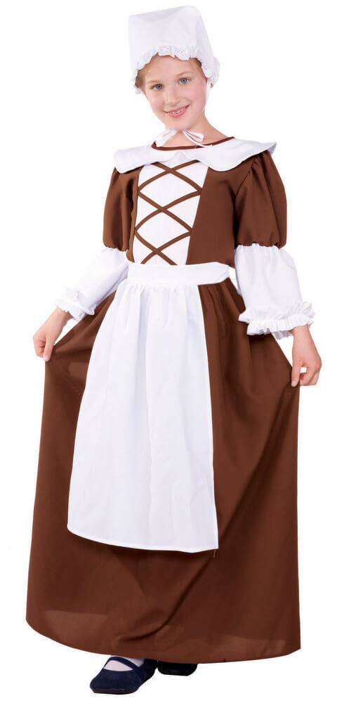 30036c3965311 Teen/Tween Colonial Peasant Girl Costume Sc 1 St Candy Apple Costumes.  image number 6 of plus size ...