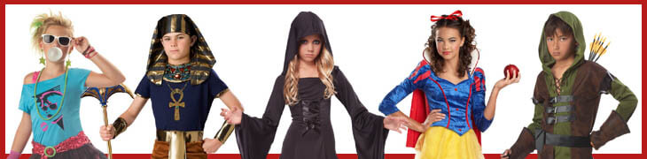 Teen/Tween Costumes