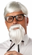 The Colonel White Wig and Beard