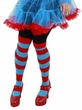 Thing 1 and 2 Blue & Red Striped Tall Socks