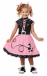 Toddler 50's Pink Poodle Cutie