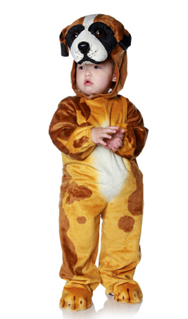 Infant/Toddler Brown Dog Costume  sc 1 st  Candy Apple Costumes & Toddler/Child Brown Dog Costume - Candy Apple Costumes - Animal Costumes
