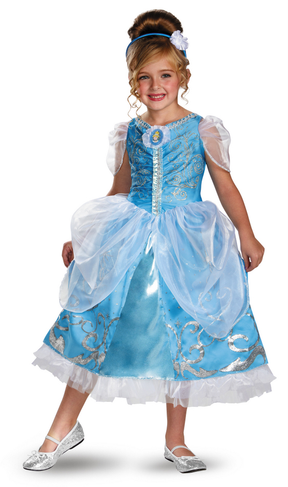 Toddler/Child Disney Cinderella Sparkle Deluxe Costume  sc 1 st  Candy Apple Costumes & Toddler/Child Disney Cinderella Sparkle Deluxe Costume - Candy Apple ...
