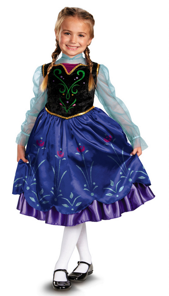 be6bd85a4707 Toddler/Child Disney Frozen Anna Deluxe Costume - Candy Apple ...