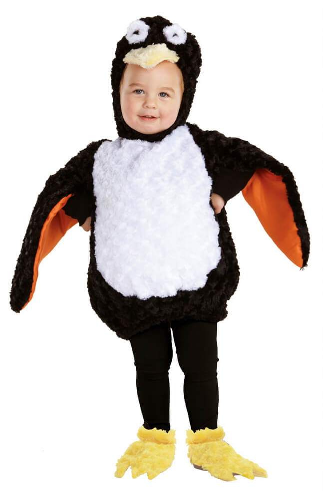 Toddler/Child Plush Penguin Costume  sc 1 st  Candy Apple Costumes & Toddler/Child Plush Penguin Costume - Candy Apple Costumes - Animal ...