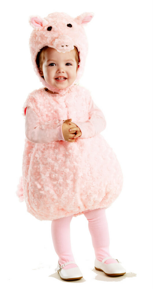 c2bcc4418645 Toddler Child Plush Piglet Costume - Candy Apple Costumes - Animal ...