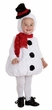 Toddler/Child Plush Snowman Costume