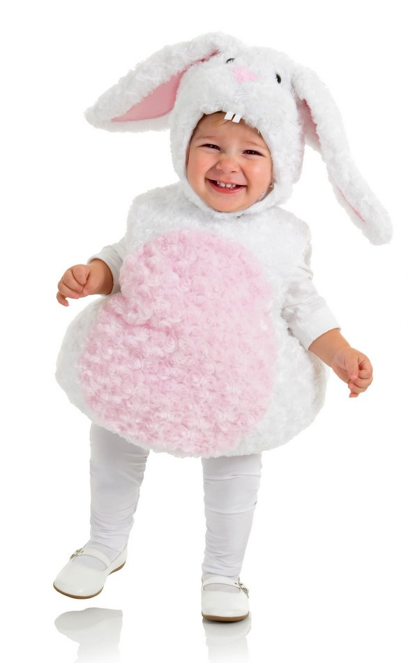 Toddler/Child Plush White Rabbit Costume  sc 1 st  Candy Apple Costumes : puppy halloween costume toddler  - Germanpascual.Com