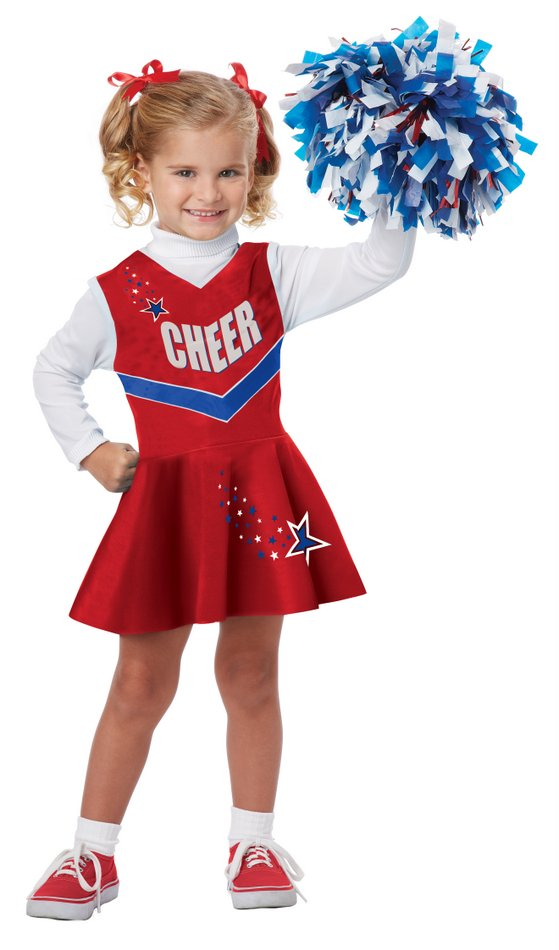Toddler/Child Red Classic Cheerleader Costume  sc 1 st  Candy Apple Costumes & Toddler/Child Red Classic Cheerleader Costume - Candy Apple Costumes ...