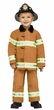 Toddler Deluxe Authentic Firefighter Costume
