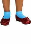 Toddler Girls' Red Glitter Dorothy Shoes