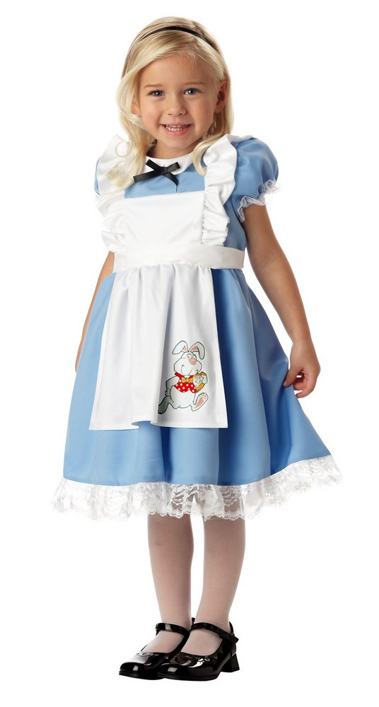 Toddler Lil Alice In Wonderland Costume Candy Apple Costumes