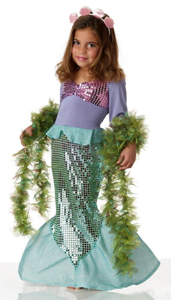 419823eec75d Toddler Lil' Mermaid Costume - Candy Apple Costumes - Pop Culture
