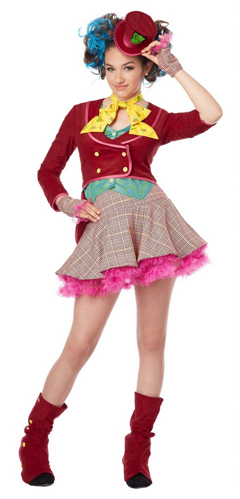Tween Mad as a Hatter Girlsu0027 Costume  sc 1 st  Candy Apple Costumes & Tween Mad as a Hatter Girlsu0027 Costume - Candy Apple Costumes - Pop ...