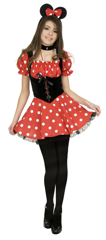 Tween Miss Mouse Costume  sc 1 st  Candy Apple Costumes & Tween Miss Mouse Costume - Candy Apple Costumes - Cartoon Characters