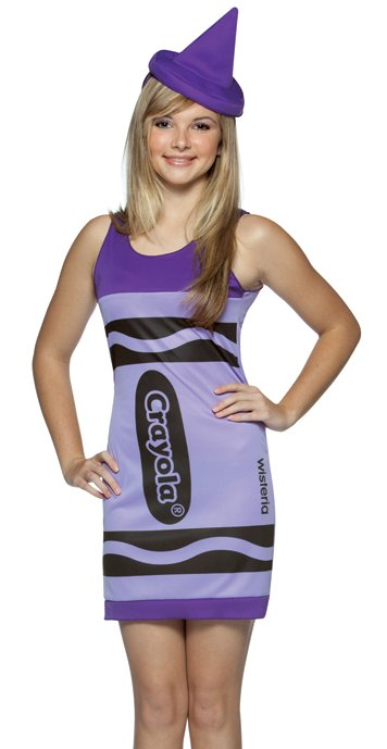 Tween Purple Crayola Crayon Costume  sc 1 st  Candy Apple Costumes & Tween Purple Crayola Crayon Costume - Candy Apple Costumes - Sale