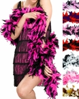 Two-Tone Feather Boa - More Colors