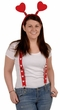 Valentine's Day Heart Suspenders