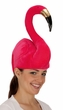 Velvet Pink Flamingo Hat