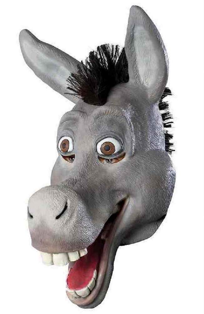 donkey face mask template - vinyl donkey mask shrek costumes candy apple costumes