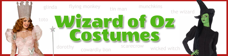 Wizard of Oz Costumes for Adults and Kids - Movies