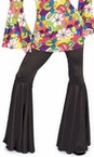 Women's Black Hippie Bell Bottom Pants