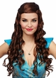 Women's Brown Medieval Princess Wig