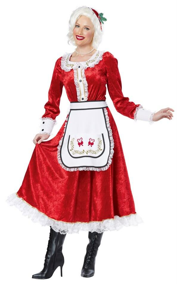 Womenu0027s Classic Mrs. Claus Costume  sc 1 st  Candy Apple Costumes : women christmas costume  - Germanpascual.Com