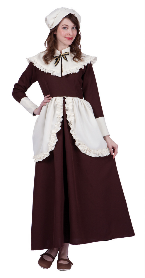 Women's Colonial Lady Abigail Costume
