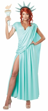 Women's Lovely Lady Liberty Costume