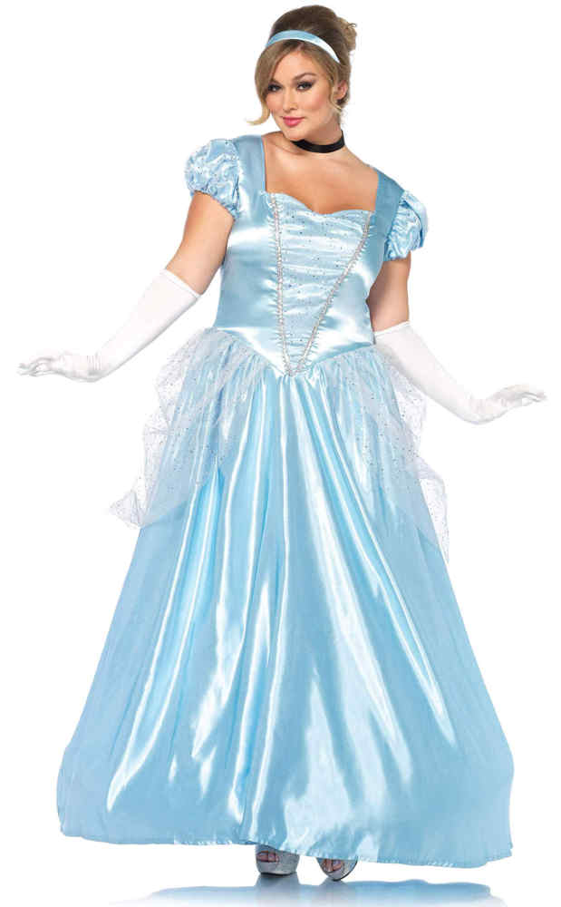 Women\'s Plus Size Classic Cinderella Costume - Candy Apple ...