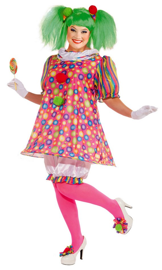 Womenu0027s Plus Size Tickles the Clown Costume  sc 1 st  Candy Apple Costumes : it the clown costume  - Germanpascual.Com