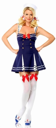 Women's Retro Sailor Dress Costume